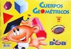 ALBUM DE CUERPOS GEOMETRICOS MATE