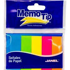BANDERITAS MEMO TIP JANEL