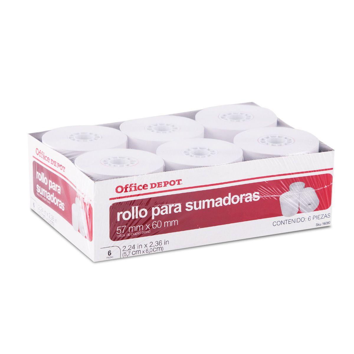 CAJA ROLLOS PARA SUMADORA C/9 PZAS
