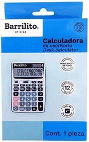 CALCULADORA BARRILITO DE ESCRITORIO DT39