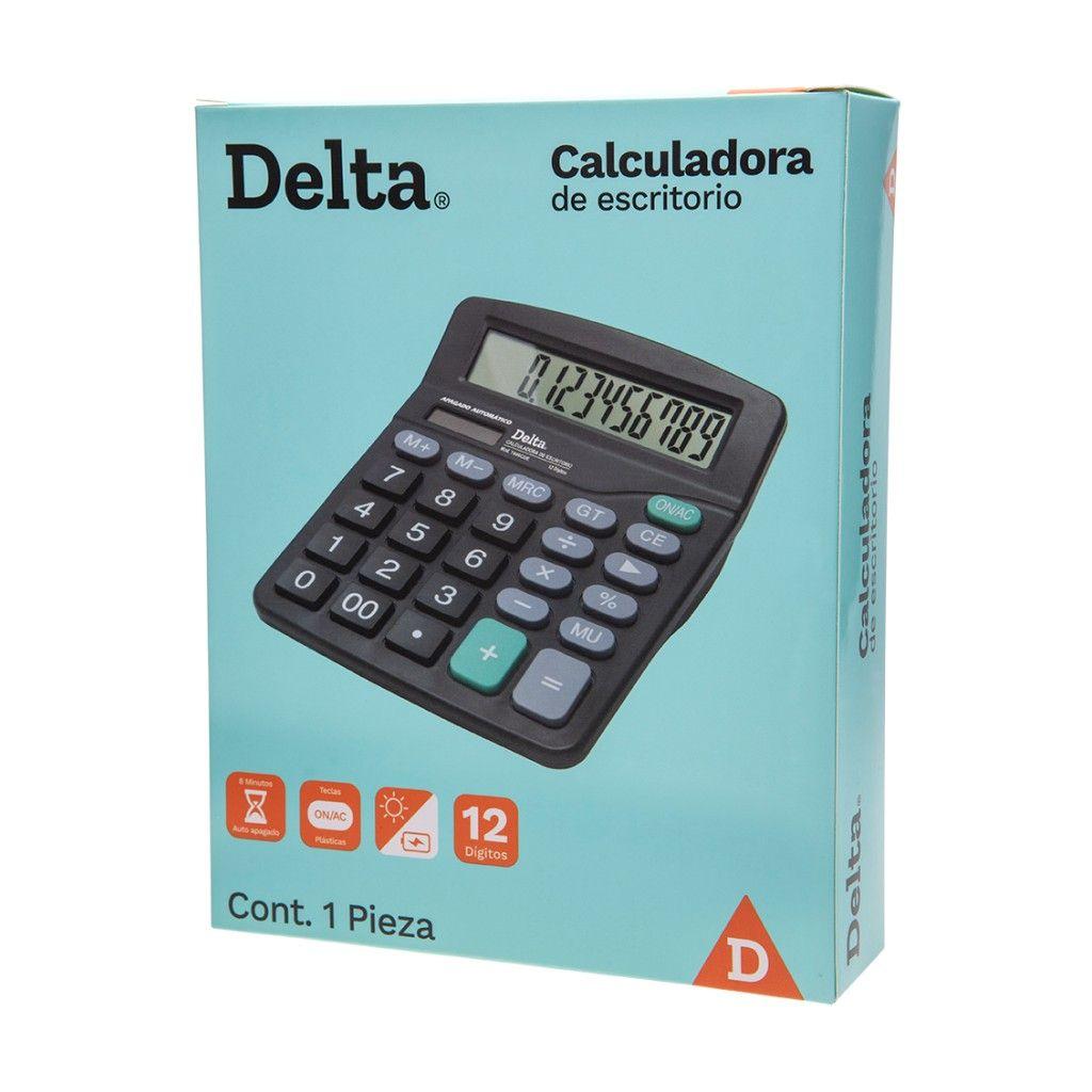 CALCULADORA DE ESCRITORIO DELTA 7808CDE