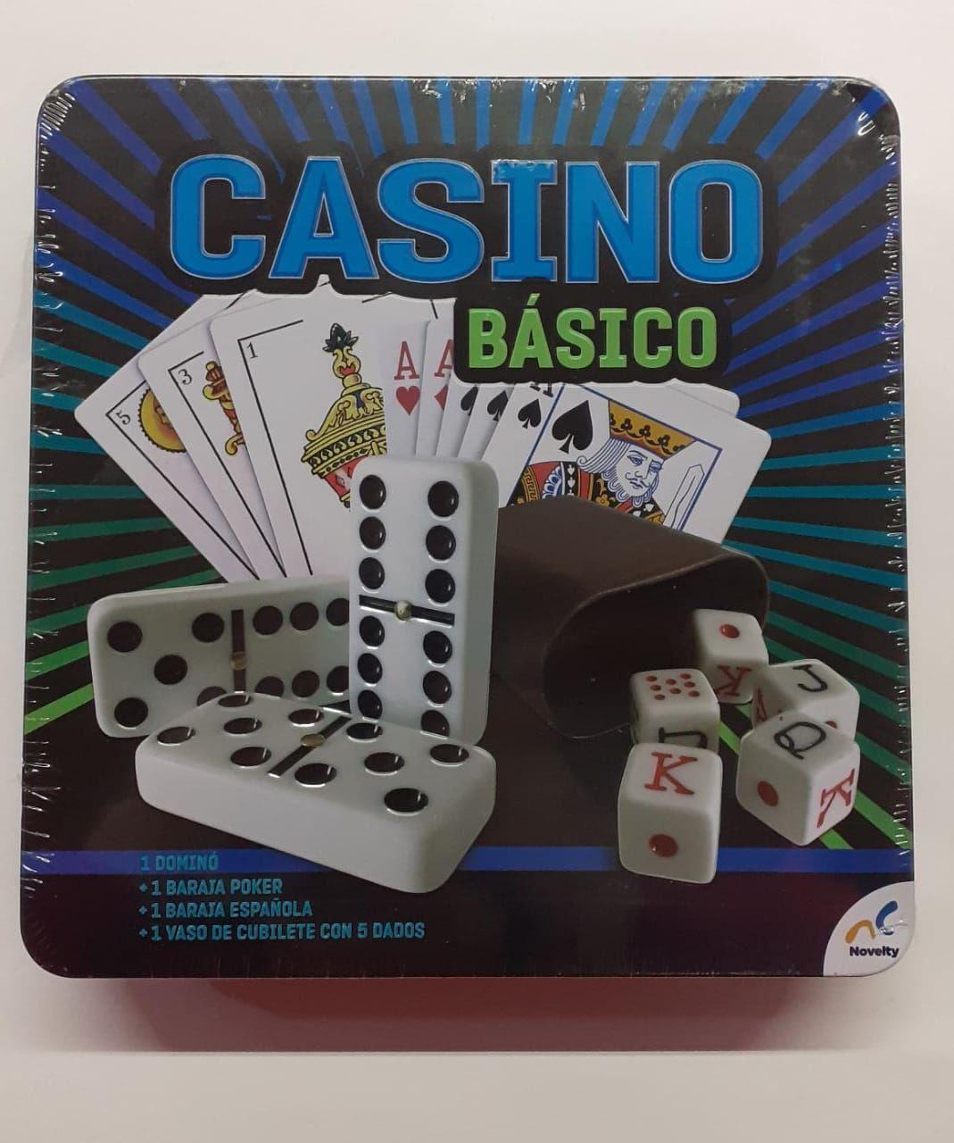 CASINO BASICO 4 EN 1