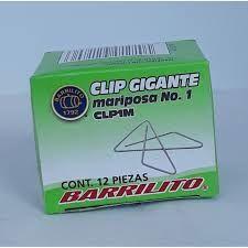 CLIP GIGANTE MARIPOSA NO.1