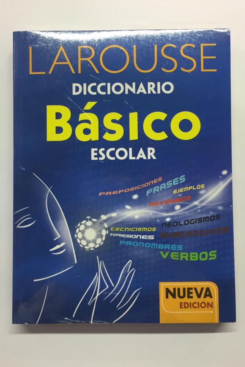 DICCIONARIO LAROUSSE BASICO AZUL