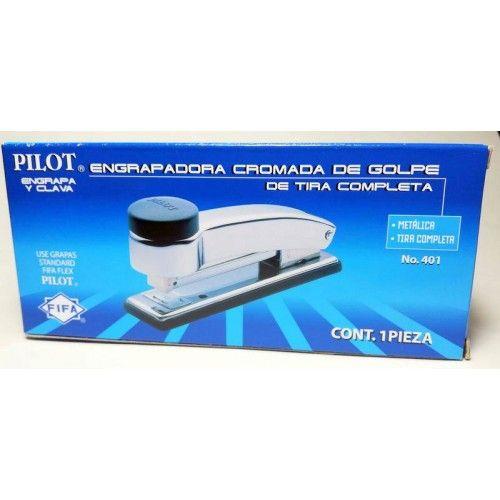 ENGRAPADORA CROMADA DE GOLPE PILOT T/COM