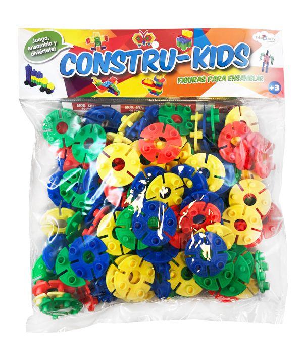 JUEGO CONSTRU-KIDS FIGURA PARA ENSAMBLES