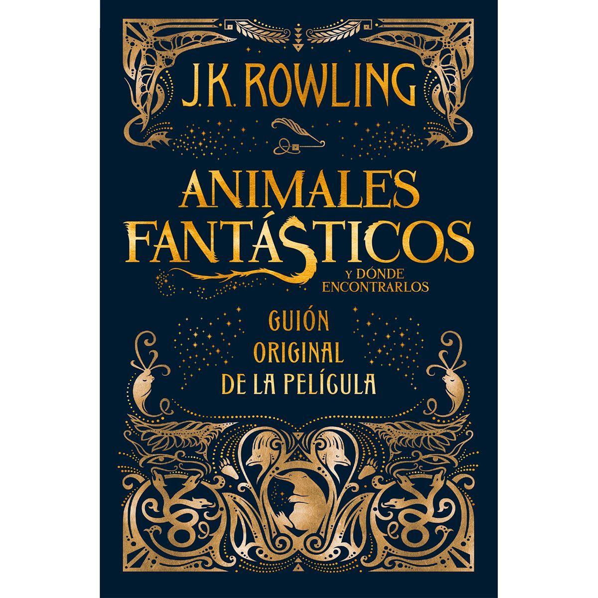 LIBRO ANIMALES FANTASTICOS J.K.ROWLING
