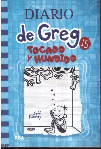 LIBRO EL DIARIO DE GREG 15 TOCADO Y HUNDIDO