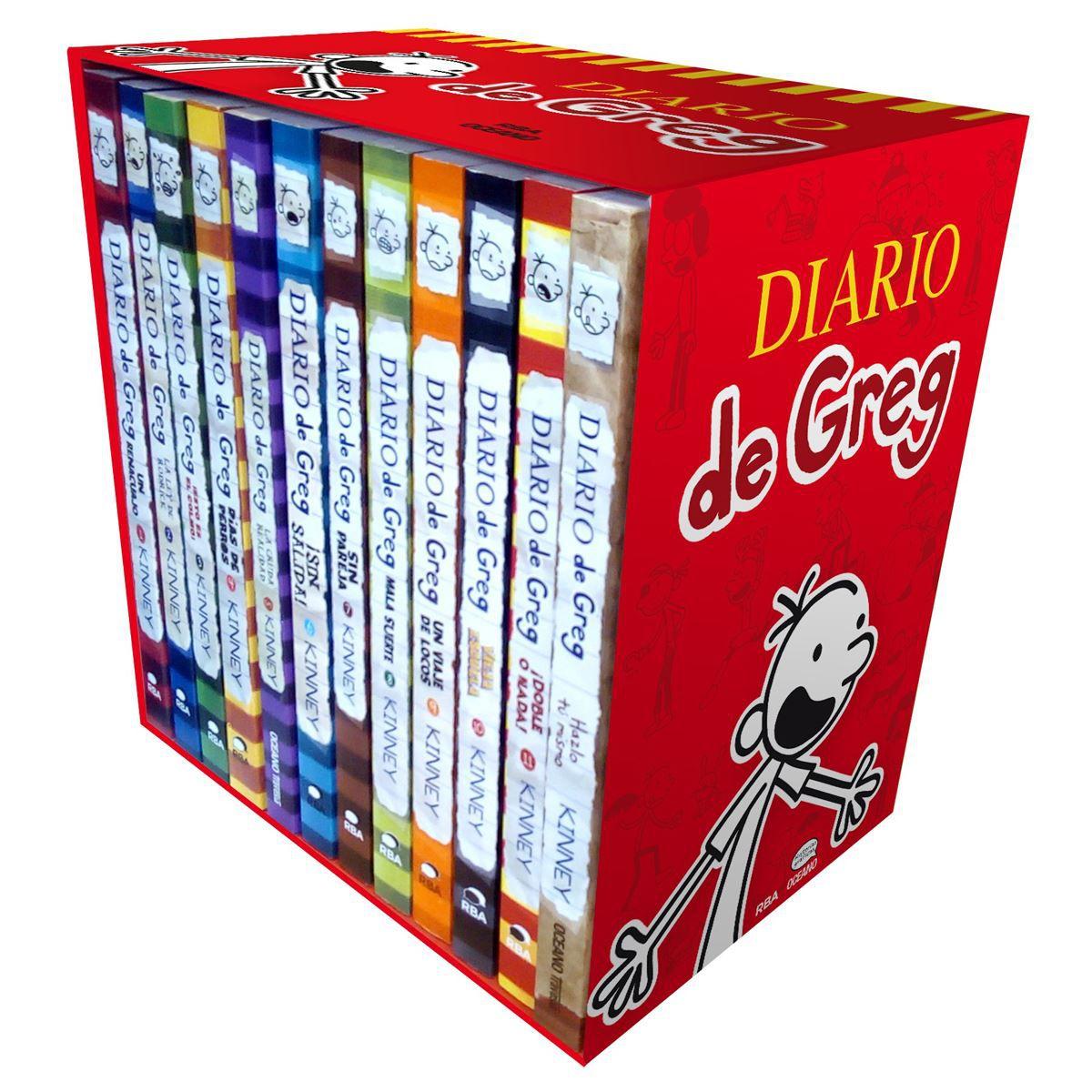 LIBRO EL DIARIO DE GREG COLECCION DE 12 LIBROS