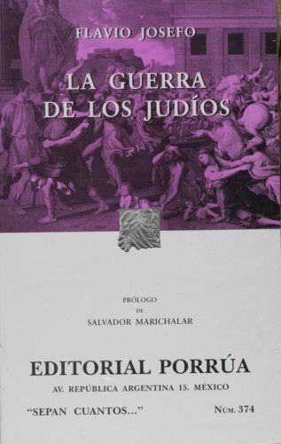 LIBRO LA GUERRA DE LOS JUDIOS