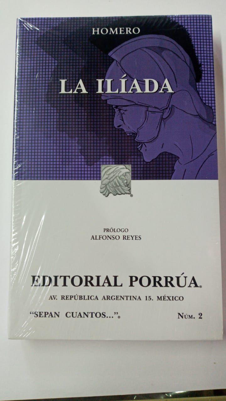LIBRO LA ILIADA HOMERO