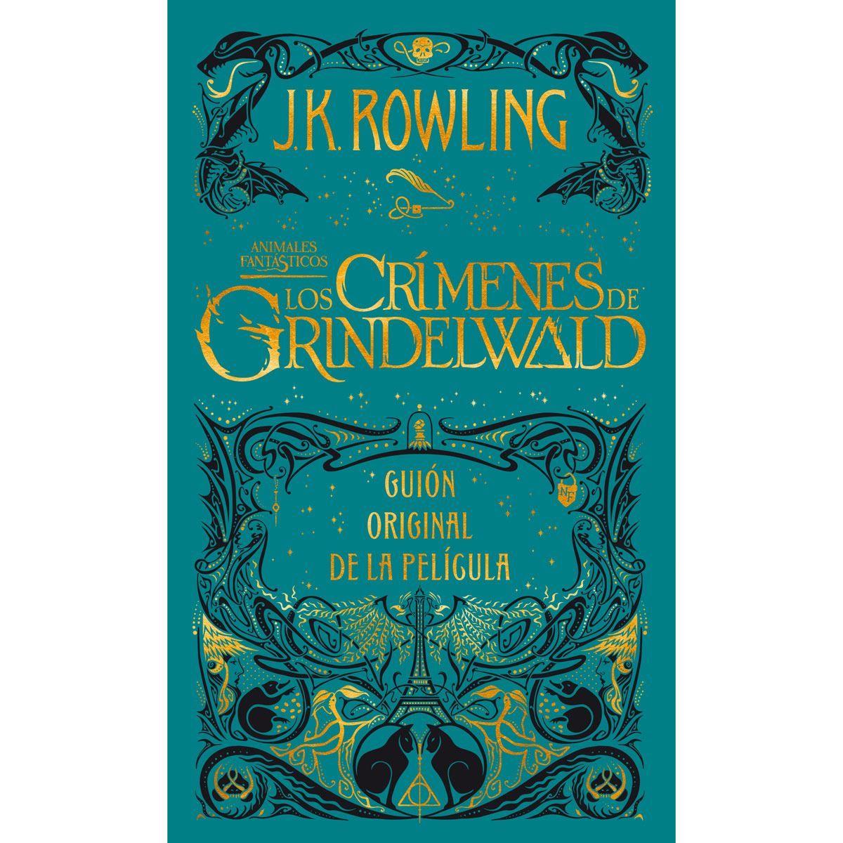LIBRO LOS CRIMENES DE GRINDELWALD J.K. ROWLING