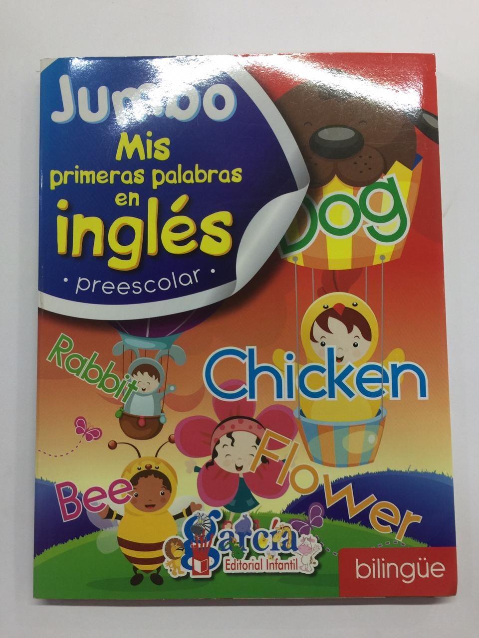 LIBRO MIS PRIMERAS PALABRAS EN INGLES