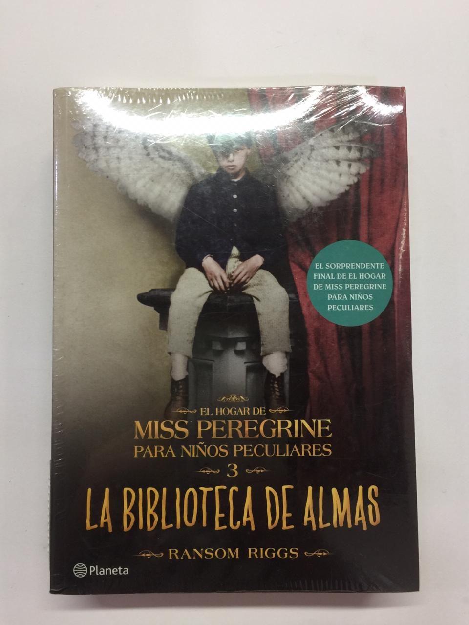 LIBRO MISS PEREGRINE LA BIBLIOTECA DE ALMAS