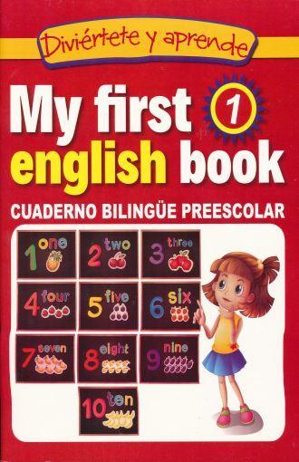 LIBRO MY FIRST ENGLISH BOOK