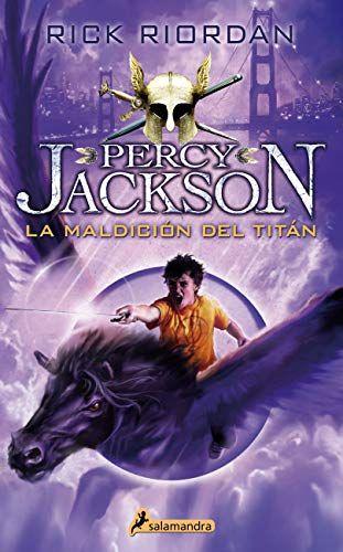 LIBRO PERCY JACKON LA MALDICION DEL TITAN