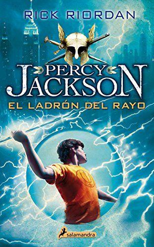 LIBRO PERCY JACKSON EL LADRON DEL RAYO