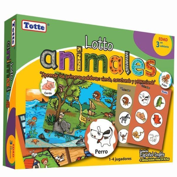 LOTTO ANIMALES TOTTE JUEGO