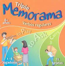 MEMORAMA VERBOS REGULARES