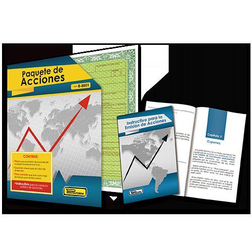PAQUETE DE ACCIONES PRINTAFORM 15 TITULOS CON 21 ACCIONES