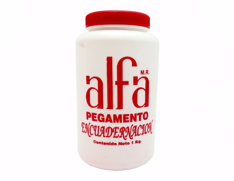 PEGAMENTO ALFA PARA ENCUADERNACION 1 KG