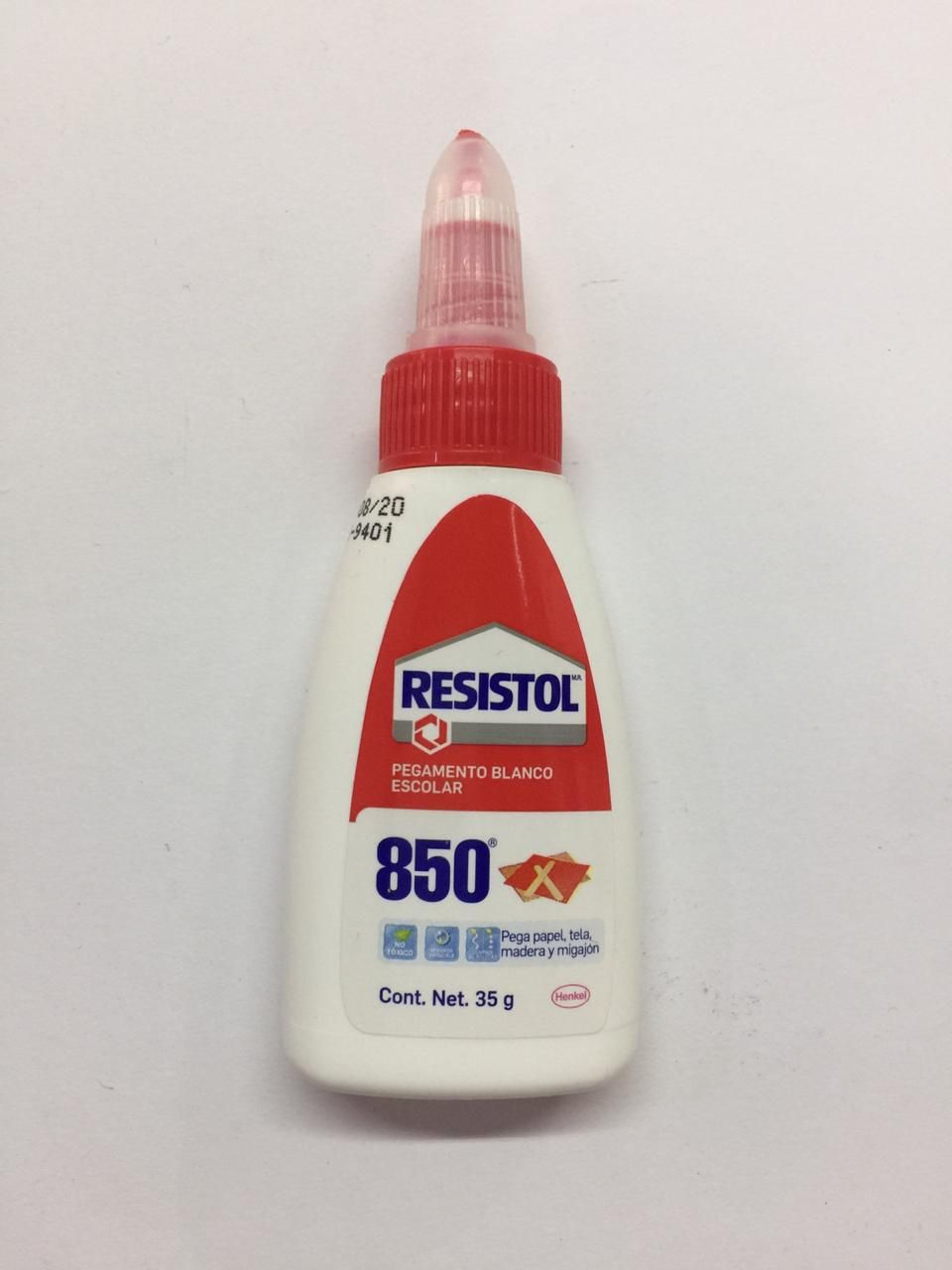 PEGAMENTO BLANCO RESISTOL 850 35 G