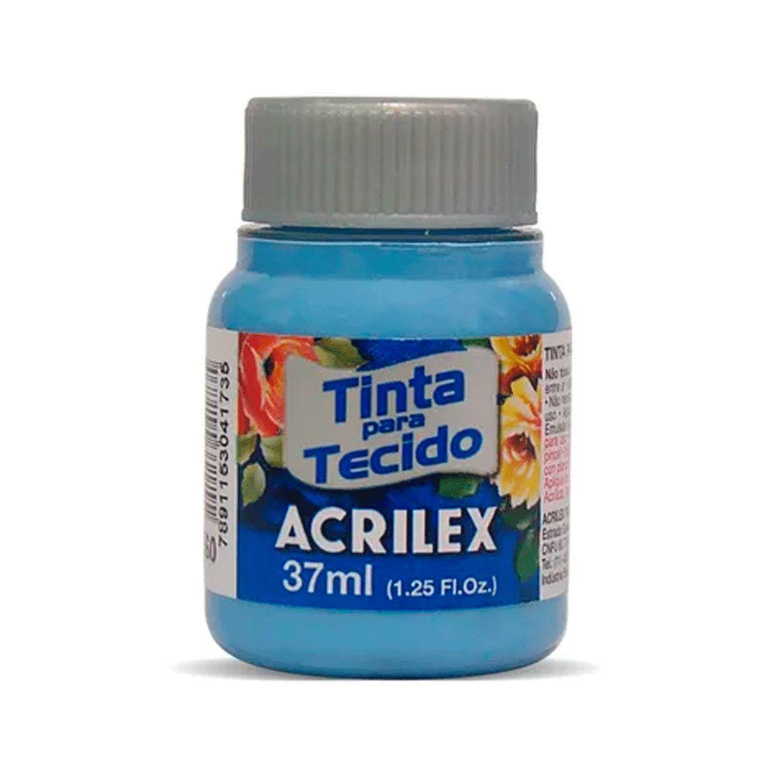 PINTURA PARA TELA ACRILEX 37 ML AZUL SOLFT