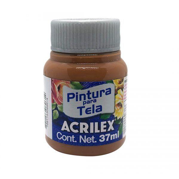 PINTURA PARA TELA ACRILEX 37 ML CHOCOLATE