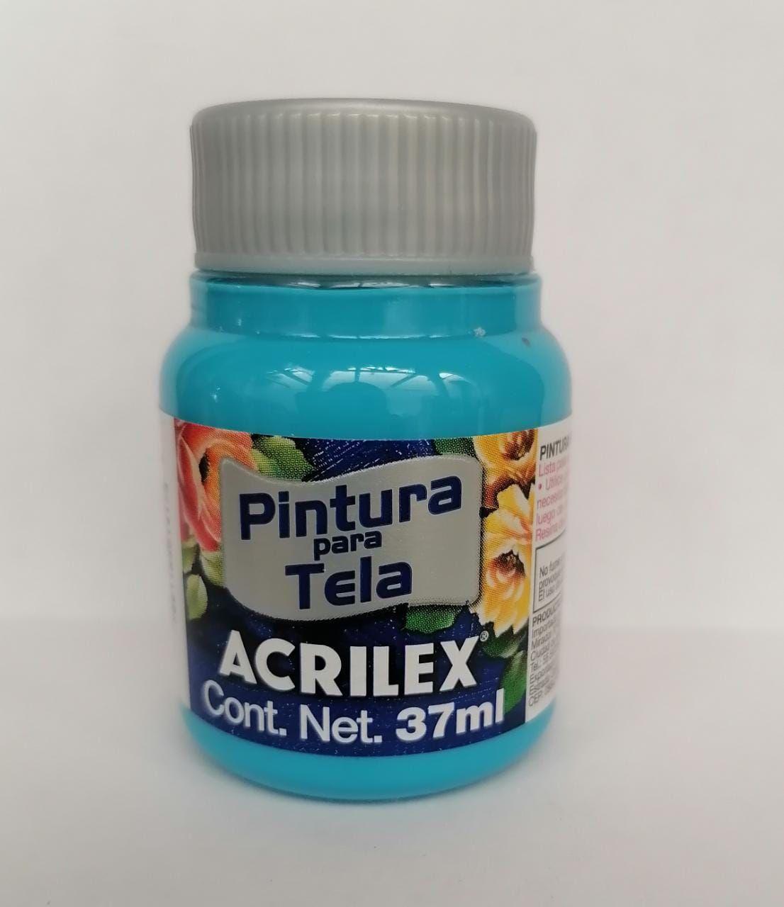 PINTURA PARA TELA ACRILEX AZUL MAR 37 ML
