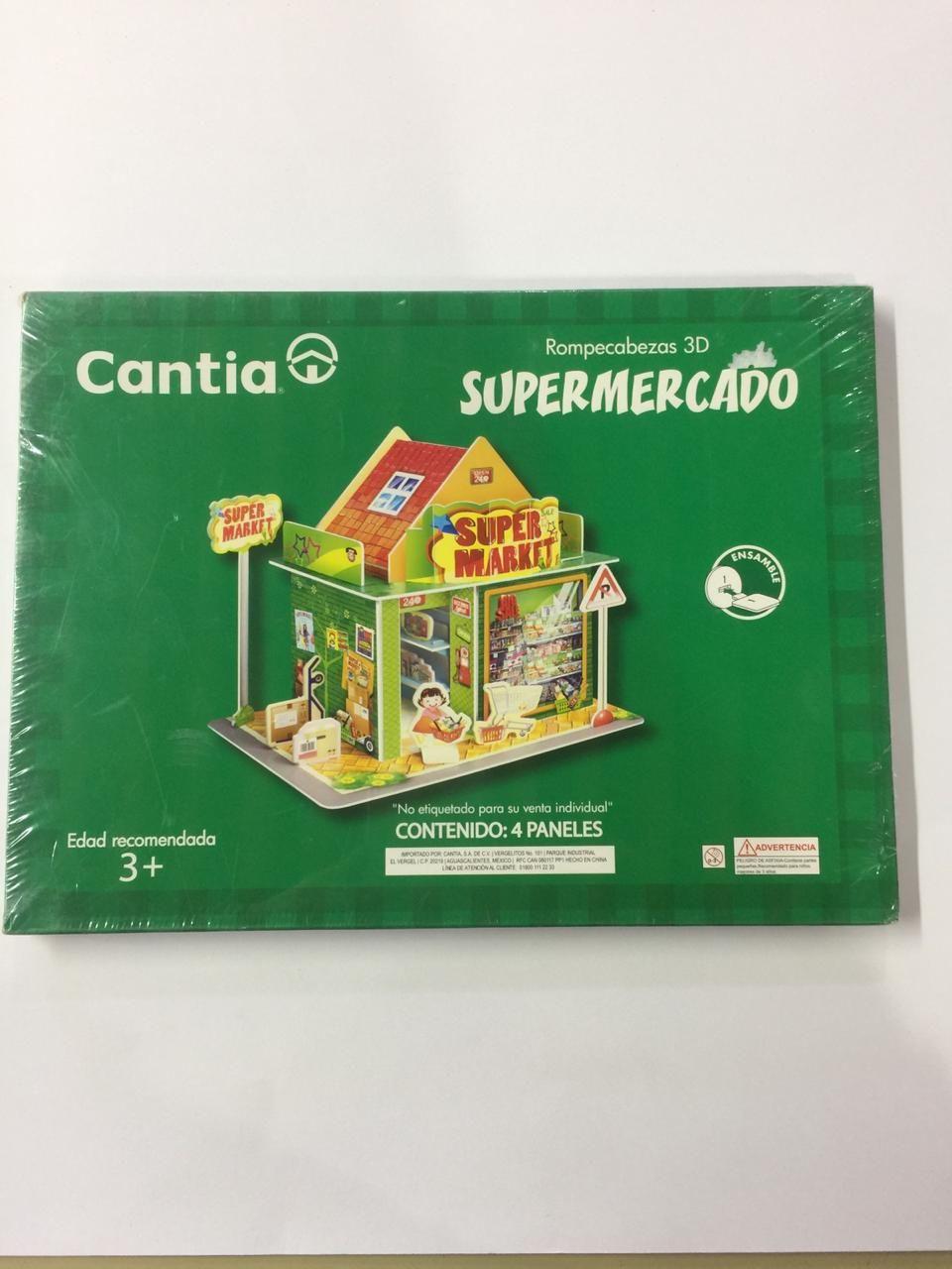 ROMPECABEZAS 3D SUPERMERCADO