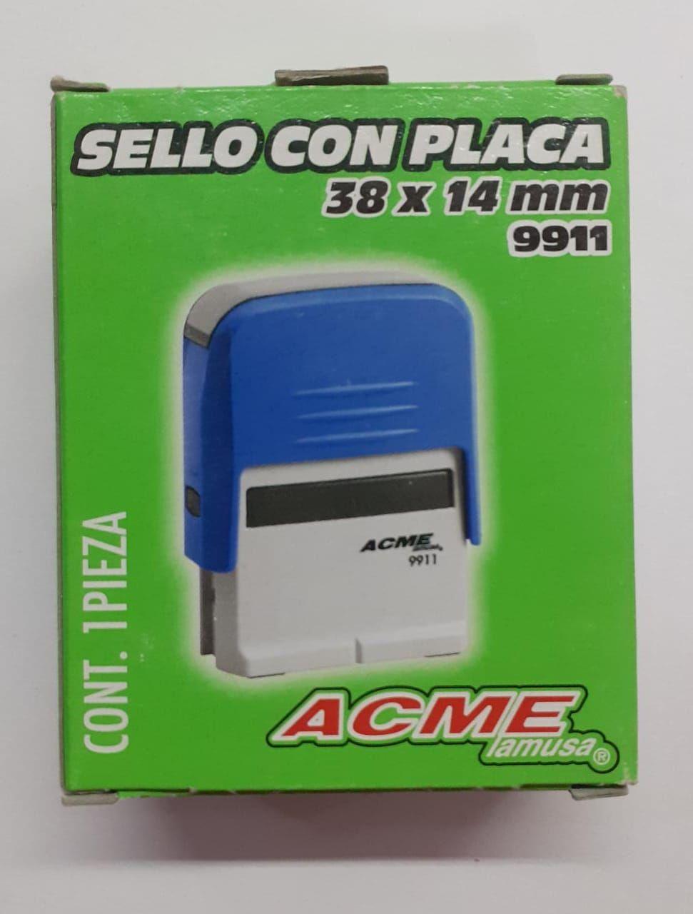 SELLO CON PALANCA ACME 38 X 14 MM 9911
