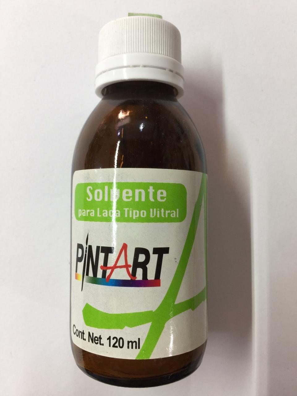 SOLVENTE PARA LACA TIPO VITRAL 120 ML