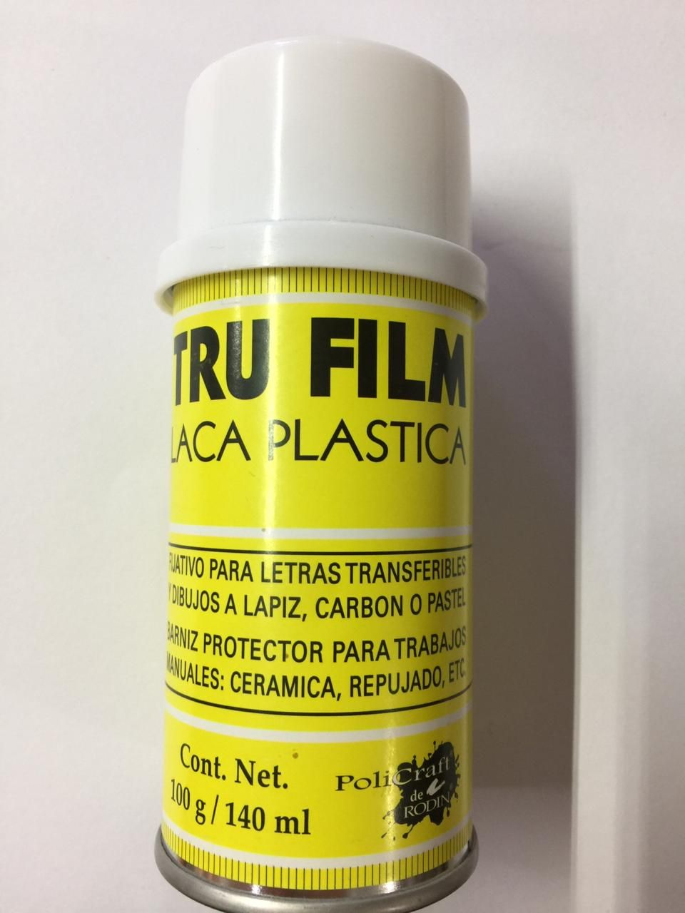 SPRAY TRU FILM LACA PLASTICA 140 ML