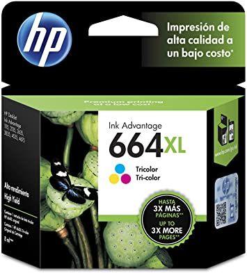 TINTA HP 664 XL TRICOLOR 8 ML