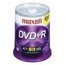 TORRE DVD + R  C/100 PZAS