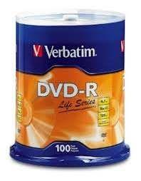 TORRE DVD-R C/100 PZAS